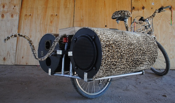 The Loud Bike - an Xtracycle Sound System